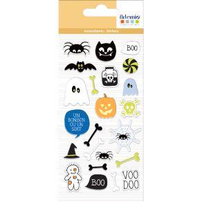 Stickers puffies HALLOWEEN par Artemio. Scrapbooking et loisirs créatifs. Livraison rapide et cadeau dans chaque commande.