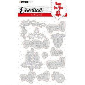 Outils de découpe CHRISTMAS MERRY CHRISTMAS NR.120