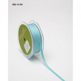 Ruban Twill Chevrons Turquoise