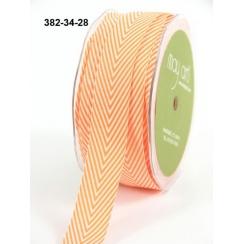 Ruban Twill Stripes ORANGE