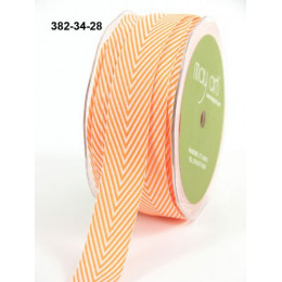 Ruban Twill Stripes ORANGE