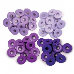 Wide Eyelets ALUMINIUM PURPLE