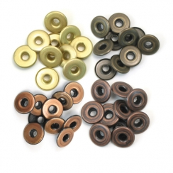 Wide Eyelets ALUMINIUM COPPER WARM METAL