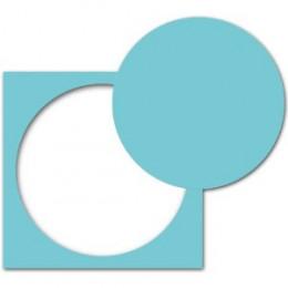 """Perforatrice 2.5""""CIRCLE par Ek success. Scrapbooking et loisirs créatifs. Livraison rapide et cadeau dans chaque commande."""