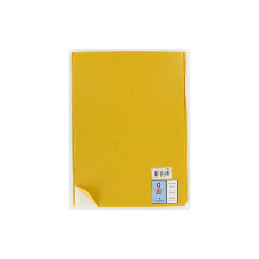 Feuille mousse adhésive double face A4 3 mm blanche par Lilly Pot'colle. Scrapbooking et loisirs créatifs. Livraison rapide e...