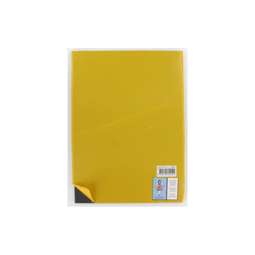 Feuille mousse adhésive double face A4 3 mm grise  par Lilly Pot'colle. Scrapbooking et loisirs créatifs. Livraison rapide et...