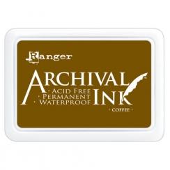 Encre Archival COFFEE par Ranger. Scrapbooking et loisirs créatifs. Livraison rapide et cadeau dans chaque commande.