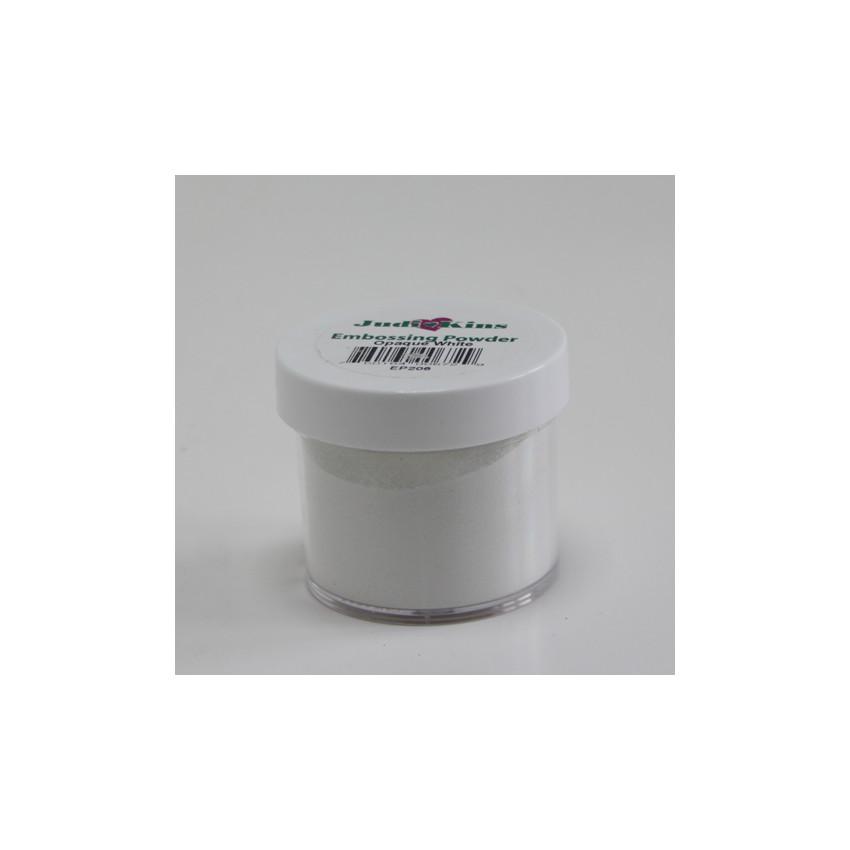 Poudre à embosser blanche opaque