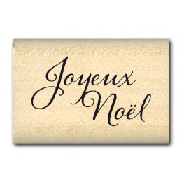 Tampon bois MINI JOYEUX NOEL  par Florilèges Design. Scrapbooking et loisirs créatifs. Livraison rapide et cadeau dans chaque...