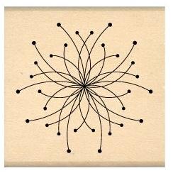 Tampon bois PETITE FLEUR D'ARTIFICE par Florilèges Design. Scrapbooking et loisirs créatifs. Livraison rapide et cadeau dans ...