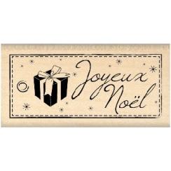 Tampon bois TAG DE NOËL par Florilèges Design. Scrapbooking et loisirs créatifs. Livraison rapide et cadeau dans chaque comma...