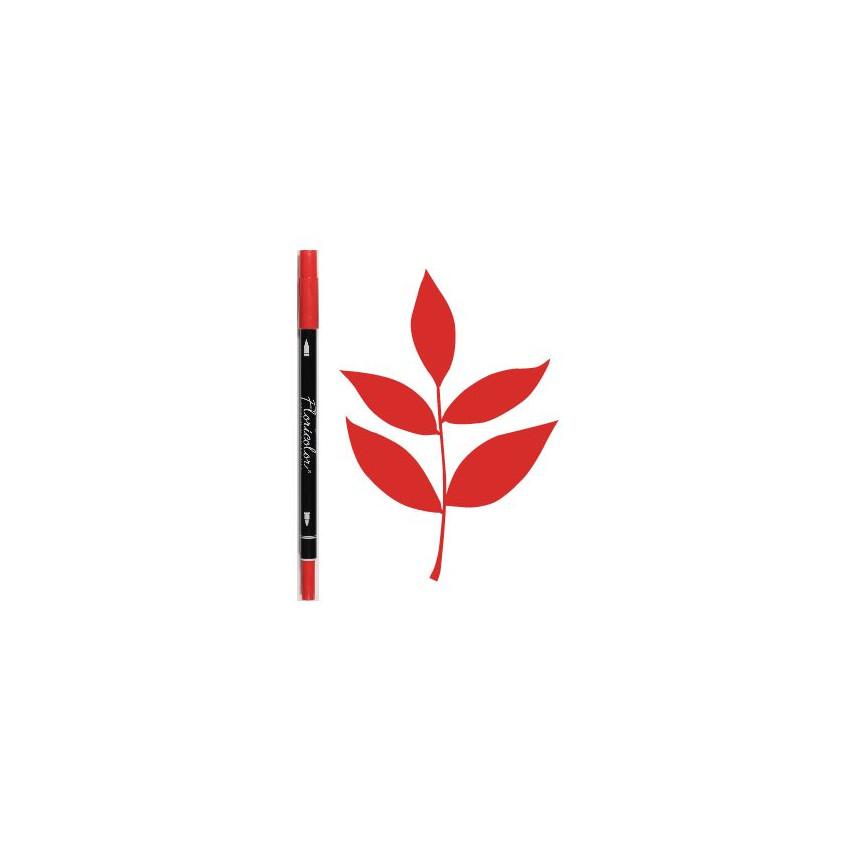 PROMO de -75% sur Feutre encreur Floricolor GERANIUM Florilèges Design
