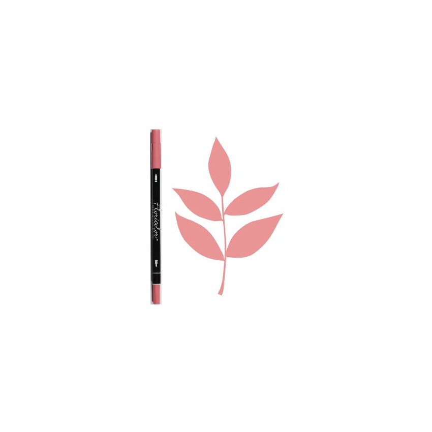 Feutre encreur Floricolor VIEUX ROSE par Florilèges Design. Scrapbooking et loisirs créatifs. Livraison rapide et cadeau dans...