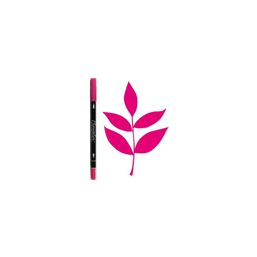 Feutre encreur Floricolor ROSE TONIQUE par Florilèges Design. Scrapbooking et loisirs créatifs. Livraison rapide et cadeau da...