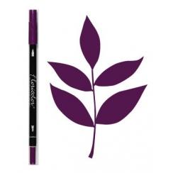 Feutre encreur Floricolor ROSE BYZANTIN par Florilèges Design. Scrapbooking et loisirs créatifs. Livraison rapide et cadeau d...