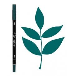 Feutre encreur Floricolor BLEU CANARD par Florilèges Design. Scrapbooking et loisirs créatifs. Livraison rapide et cadeau dan...