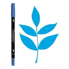 Feutre encreur Floricolor BLEU ELECTRIQUE par Florilèges Design. Scrapbooking et loisirs créatifs. Livraison rapide et cadeau...