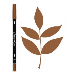 Feutre encreur Floricolor NOISETTE par Florilèges Design. Scrapbooking et loisirs créatifs. Livraison rapide et cadeau dans c...