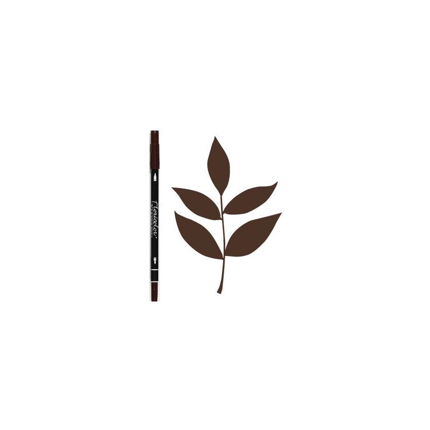 PROMO de -60% sur Feutre encreur Floricolor CHOCOLAT Florilèges Design