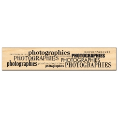 Tampon bois MILLE PHOTOGRAPHIES  par Florilèges Design. Scrapbooking et loisirs créatifs. Livraison rapide et cadeau dans cha...