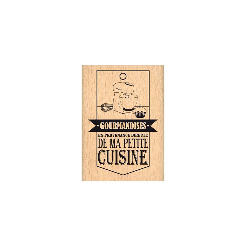 Tampon bois DE MA PETITE CUISINE par Florilèges Design. Scrapbooking et loisirs créatifs. Livraison rapide et cadeau dans cha...