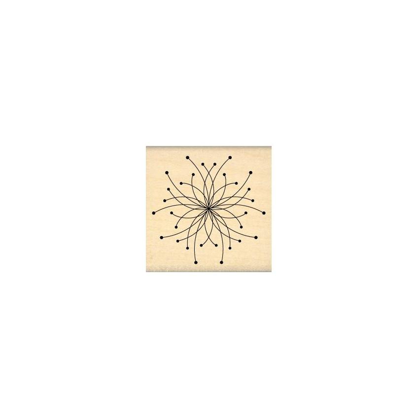 Tampon bois FLEUR D'ARTIFICE par Florilèges Design. Scrapbooking et loisirs créatifs. Livraison rapide et cadeau dans chaque ...