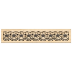 PROMO de -40% sur Tampon bois FINE DENTELLE Florilèges Design