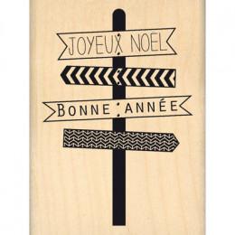 Commandez Tampon bois JOYEUX PANNEAUX Florilèges Design. Livraison rapide et cadeau dans chaque commande.