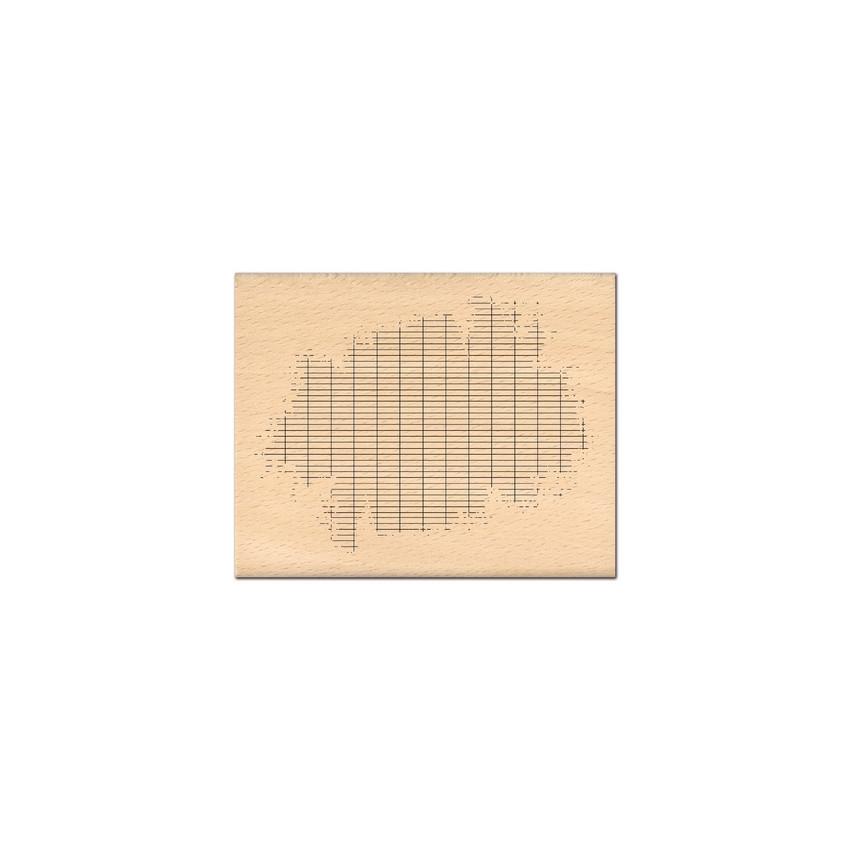 Tampon bois BOUT DE CAHIER  par Florilèges Design. Scrapbooking et loisirs créatifs. Livraison rapide et cadeau dans chaque c...