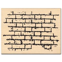 Tampons bois MUR DE BRIQUES par Florilèges Design. Scrapbooking et loisirs créatifs. Livraison rapide et cadeau dans chaque c...