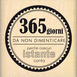 Tampon bois italien DA NON DIMENTICARE par Florilèges Design. Scrapbooking et loisirs créatifs. Livraison rapide et cadeau da...