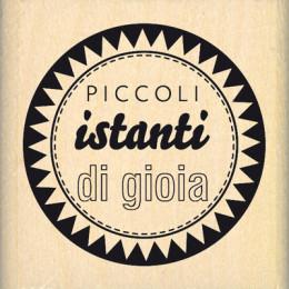 Tampon bois italien ISTANTI SELEZIONATI par Florilèges Design. Scrapbooking et loisirs créatifs. Livraison rapide et cadeau d...