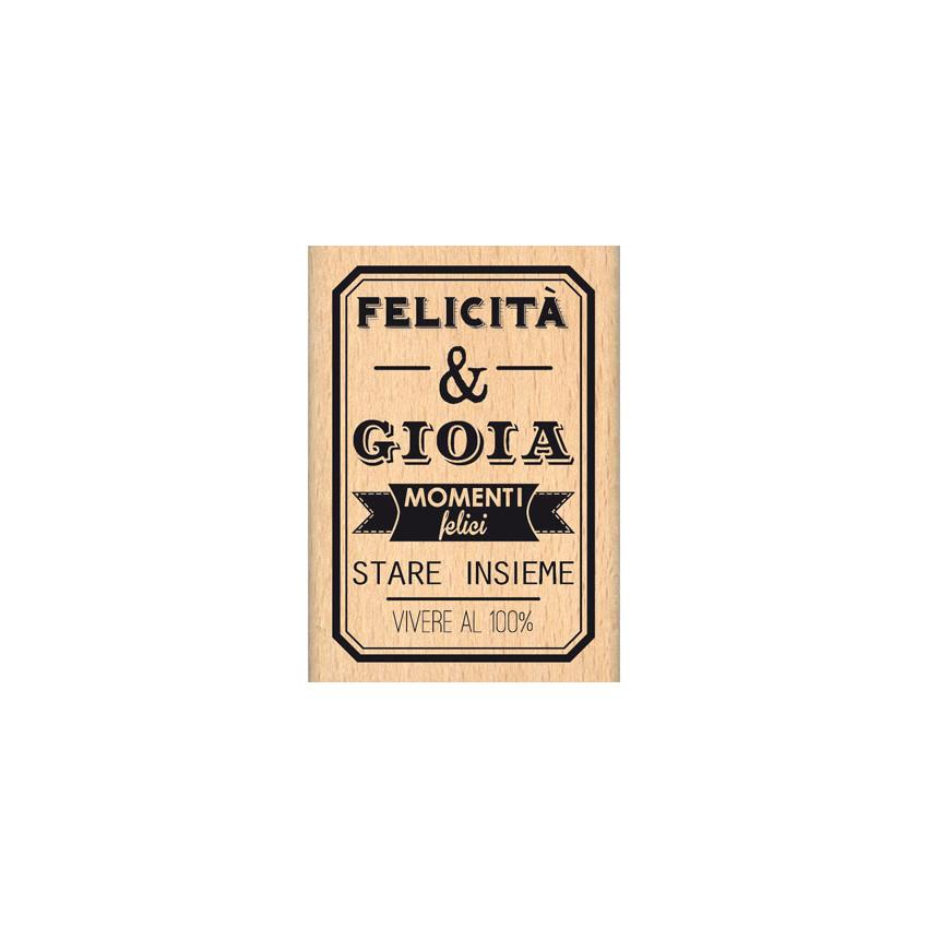 FELICITA E GIOIA