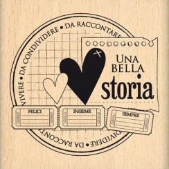 Parfait pour créer : Tampon bois italien STORIE DA RACCONTARE par Florilèges Design. Livraison rapide et cadeau dans chaque c...