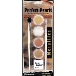 Poudres Perfect Pearls kit Métallique