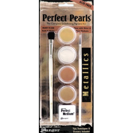 Poudres Perfect Pearls kit Métallique