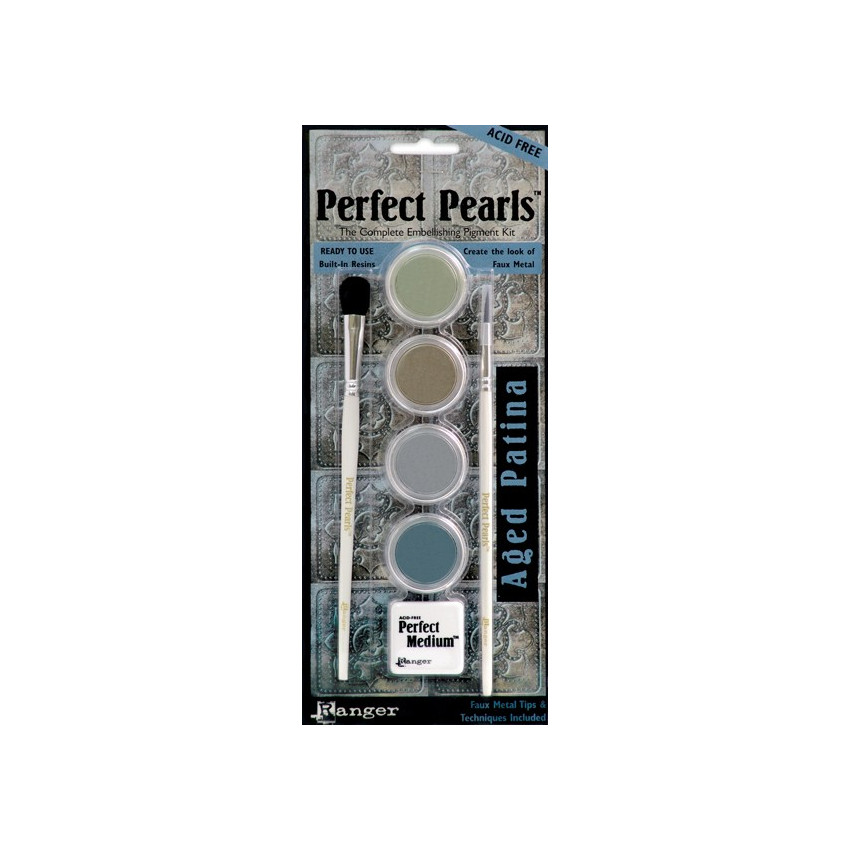 Poudres Perfect Pearls Kit Age Patina