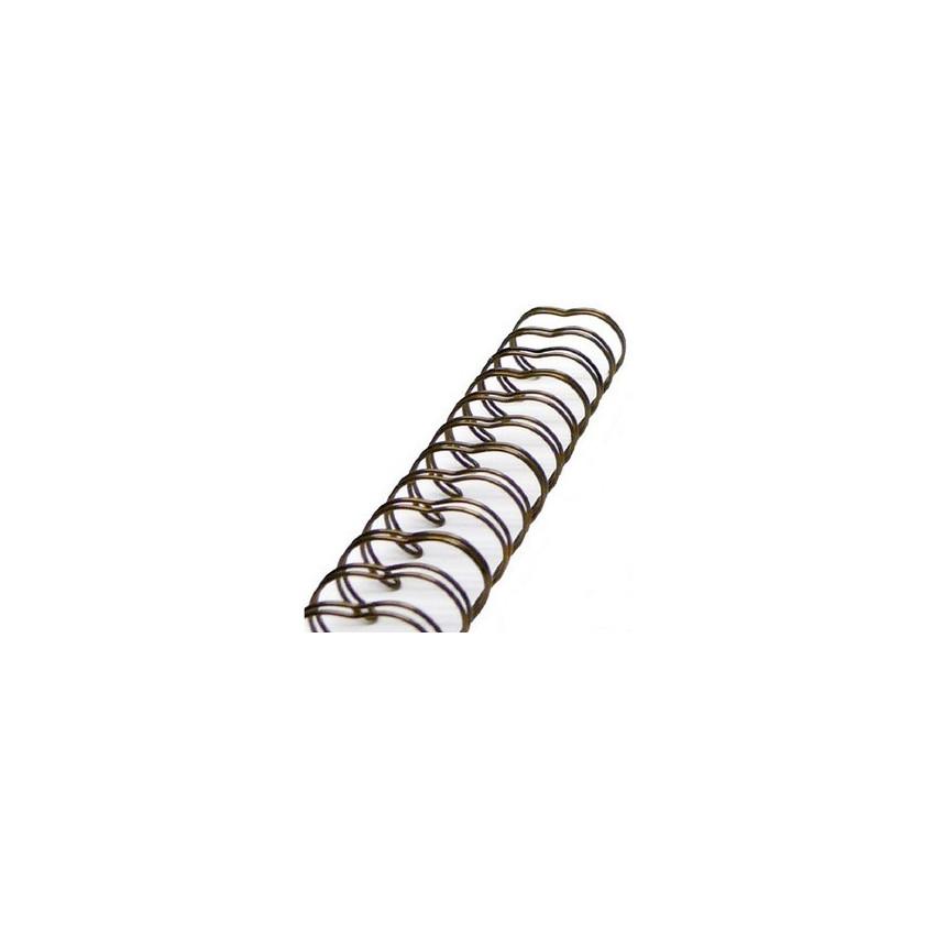 6 Reliures 1/2 1,30 cm ANTIQUE BRASS