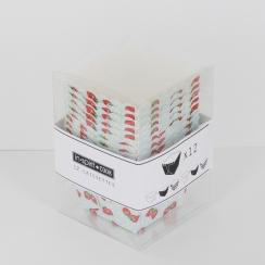 PROMO de -70% sur Caissettes carrées imprimées fraisesOK Cook and Gift