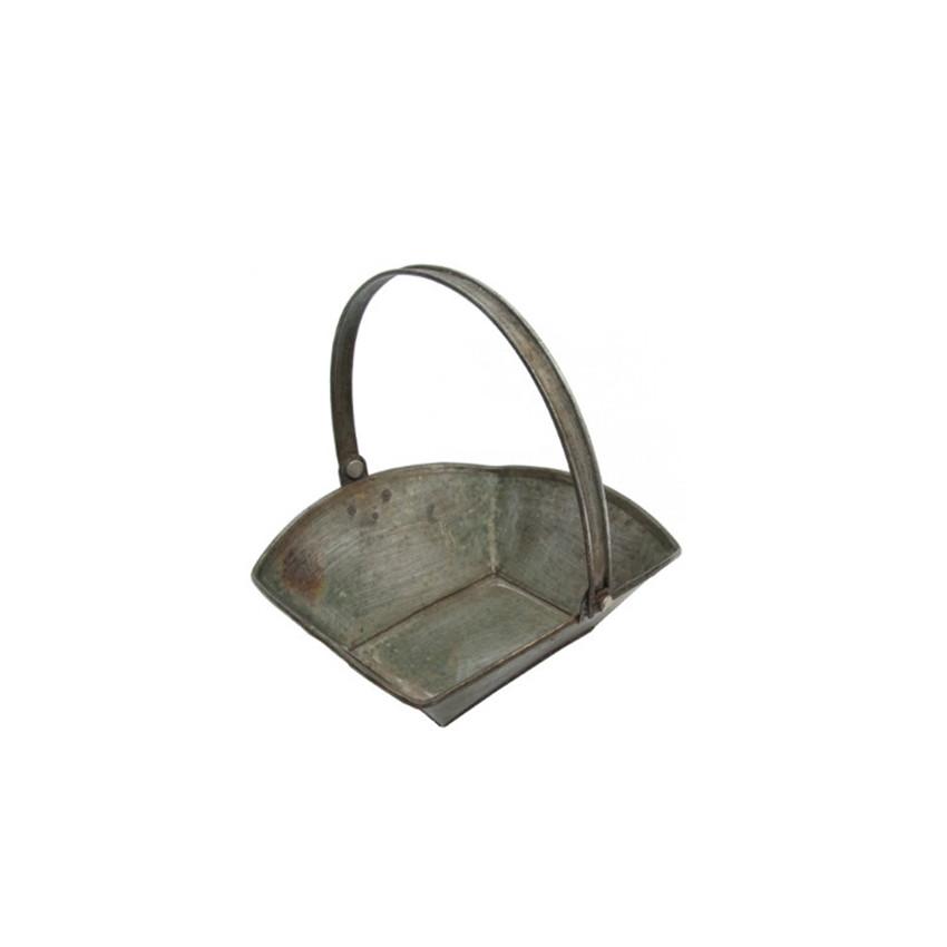 Mini panier zinc avec anse par . Scrapbooking et loisirs créatifs. Livraison rapide et cadeau dans chaque commande.