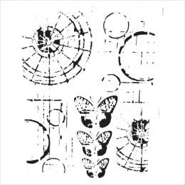 Pochoir 15x15 SPECIMEN par Crafter's Workshop. Scrapbooking et loisirs créatifs. Livraison rapide et cadeau dans chaque comma...