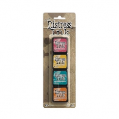 Encres Mini Distress KIT n°1 par Ranger. Scrapbooking et loisirs créatifs. Livraison rapide et cadeau dans chaque commande.