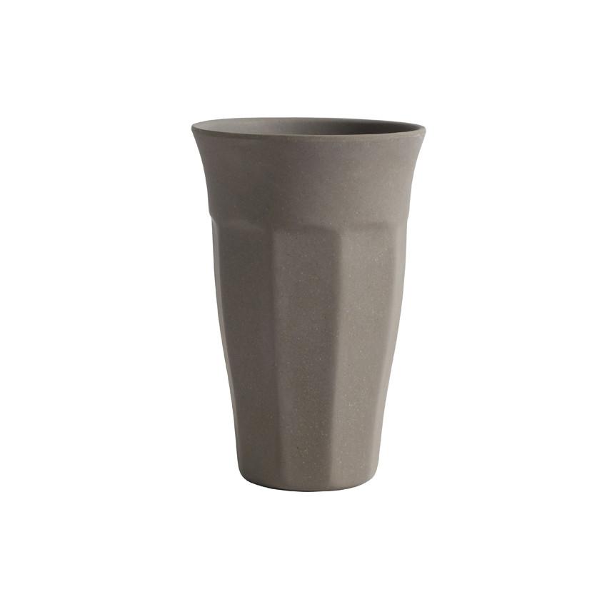 Lot de 4 Mugs Latte en fibres naturelles de bambou