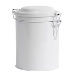 PROMO de -80% sur Boite ronde métal blanche moyen modèleOK Nordal