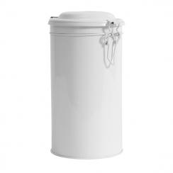 PROMO de -60% sur Boite ronde métal blanche grand modèle