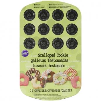 Moule à biscuits fleurs