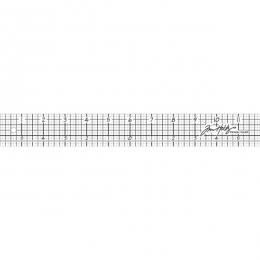 Règle 30 cm Design Ruler par Tim Holtz. Scrapbooking et loisirs créatifs. Livraison rapide et cadeau dans chaque commande.