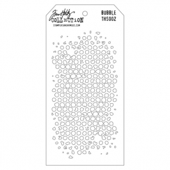 Pochoir DOT FADE Tim Holtz