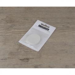 Etiquettes petits ronds blancs