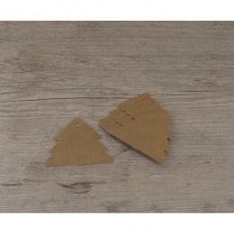PROMO de -50% sur Etiquettes sapins kraftOK Cook and Gift